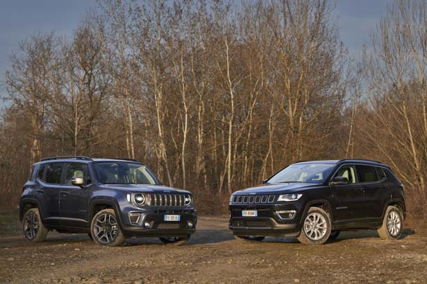 Jeep 4xe Renegade e Compass