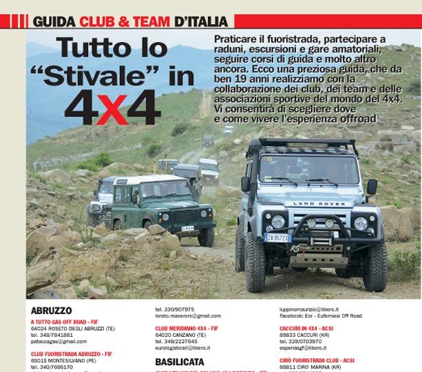 Guida 4×4 club & team edizione 2017