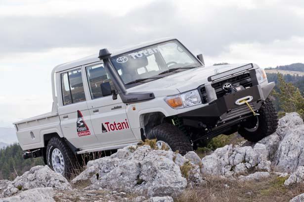 Un Toyota per grandi viaggiatori