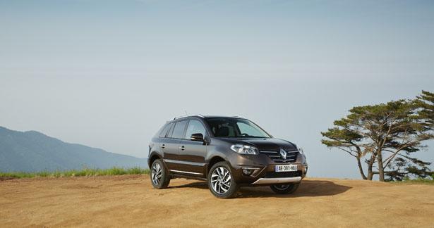 Renault Koleos restyling per il M.Y 2013/2014