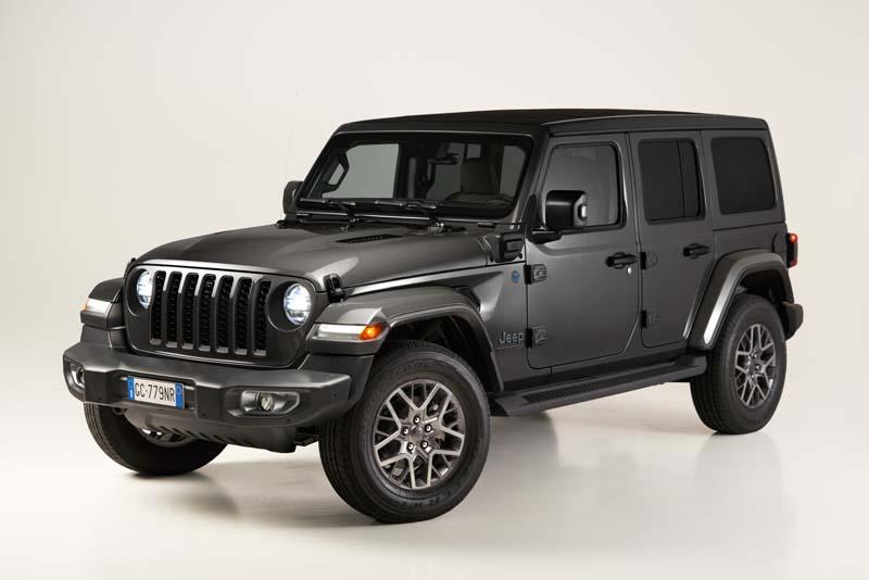 Jeep Wrangler 4xe: la First Edition è ordinabile