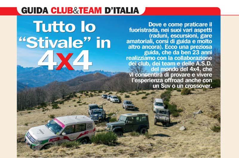 Guida ai club & team 4×4 d'Italia