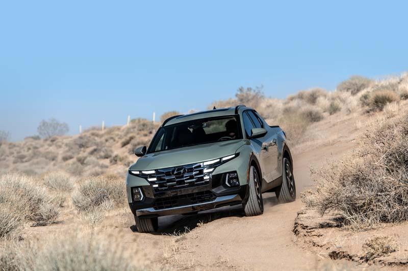 Santa Cruz il pick up yankee di Hyundai