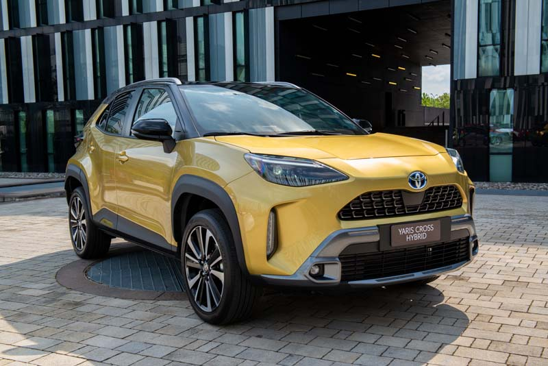 Nuova Toyota Yaris Cross Hybrid: da oggi si può prenotare