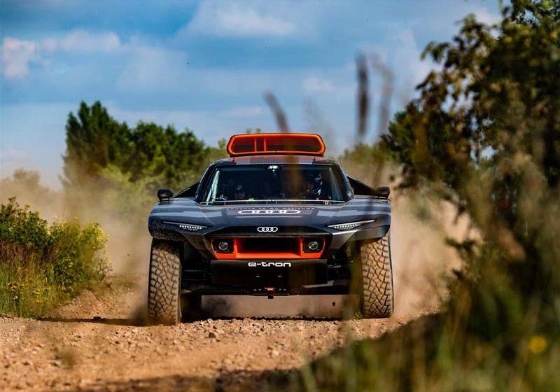 Audi RS Q e-tron: il prototipo Dakar 2022